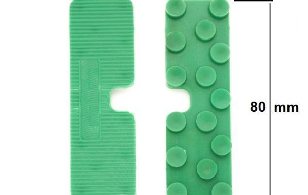 Cale de vitrage sans languette largeur 24mm (📝)