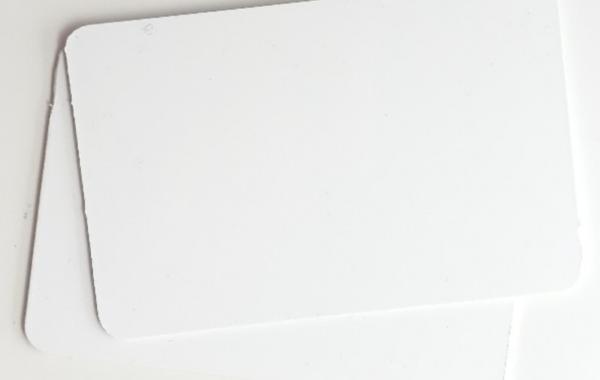 Plaque format carte de visite ou crédit (📝)